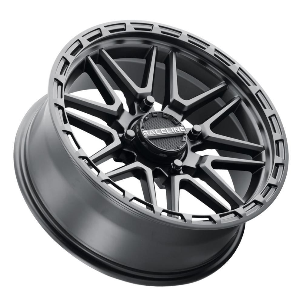 Raceline Wheels A11B Krank XL - Black Rim