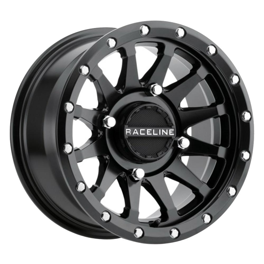 Raceline Wheels A95B Trophy - Black Simulated Beadlock Rim