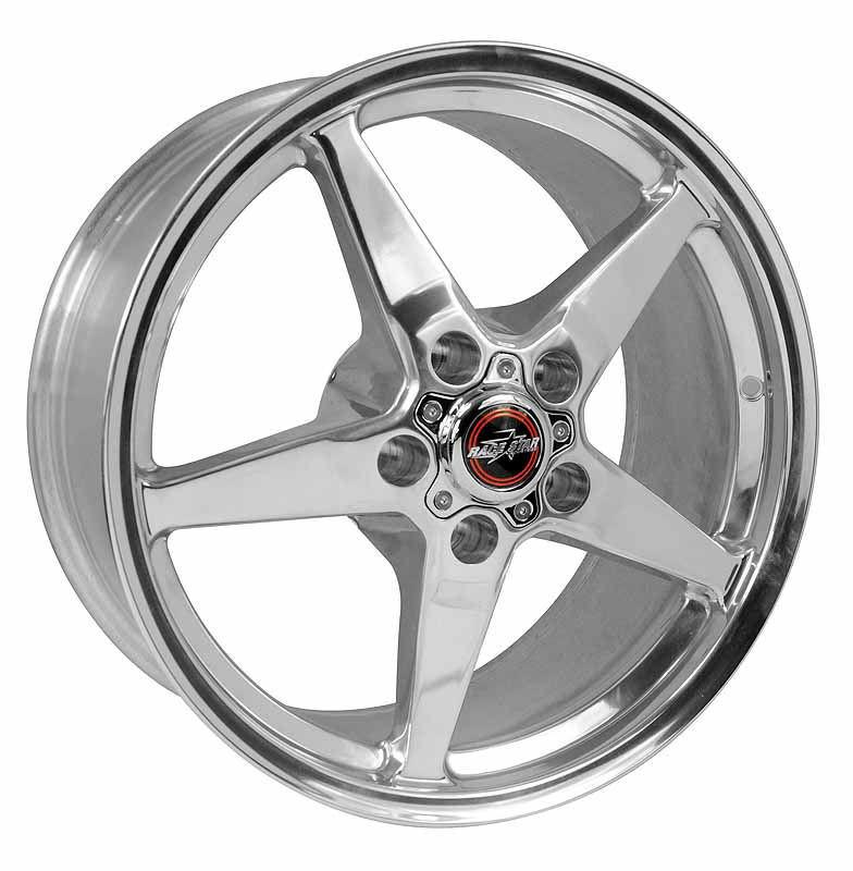 Racestar Wheels 92 Drag Star - Polished Rim - 18x5