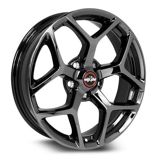 Racestar Wheels 95 Recluse - Black Chrome Rim - 18x5