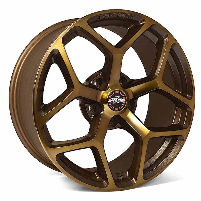 Racestar Wheels 95 Recluse - Bronze Rim - 18x5