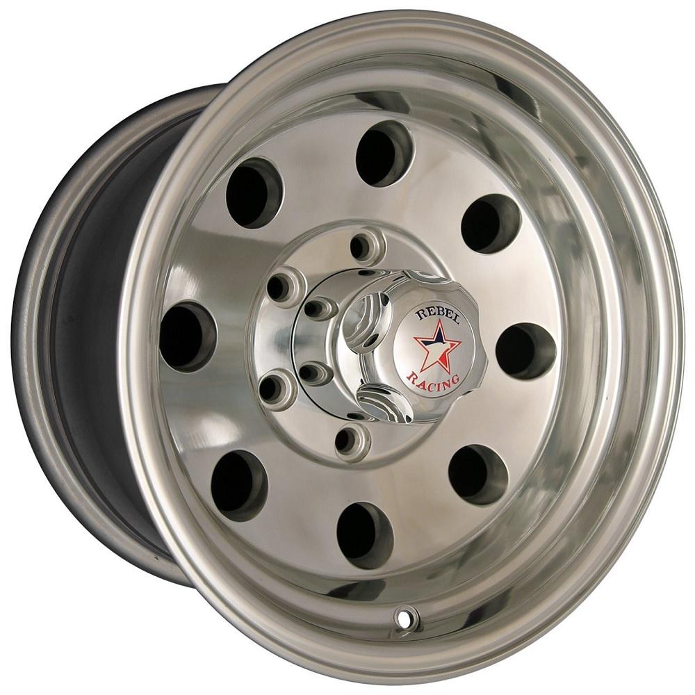 Rebel Wheels 72 Sahara - Machined Clear Coat Rim