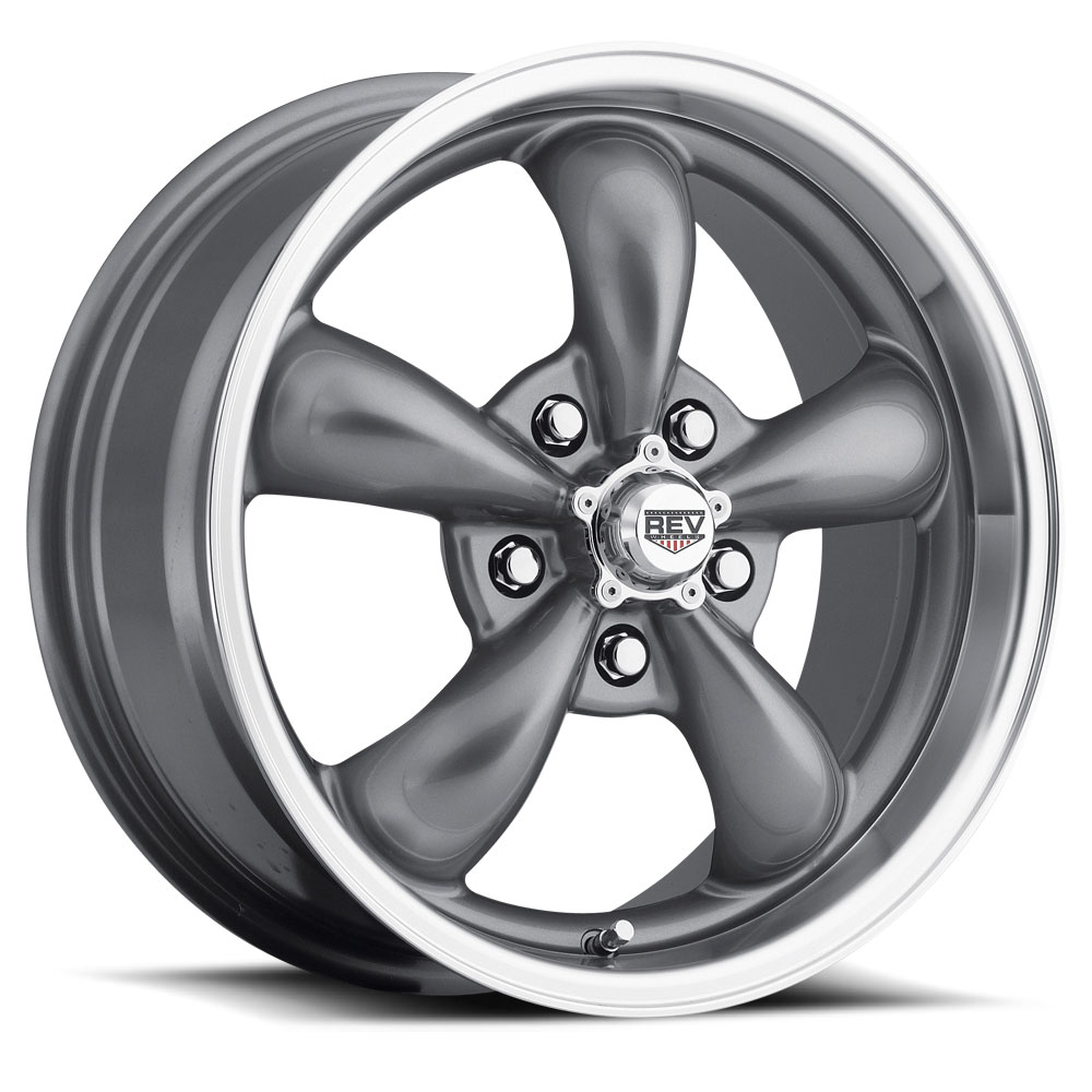 Rev Wheels 100 Classic - Anthracite / Polished Lip