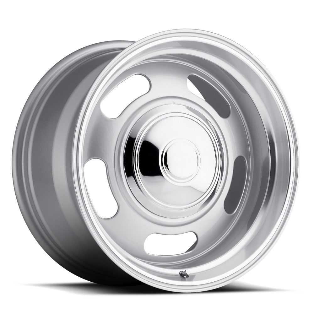 Rev Wheels 107 Classic Rally - Silver Rim