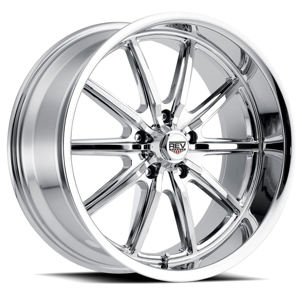 Rev Wheels 110 Classic - Chrome Rim