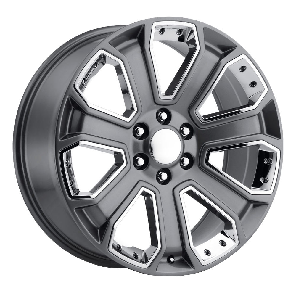 OE Replica Wheels 588 - Gray / Chrome Rim