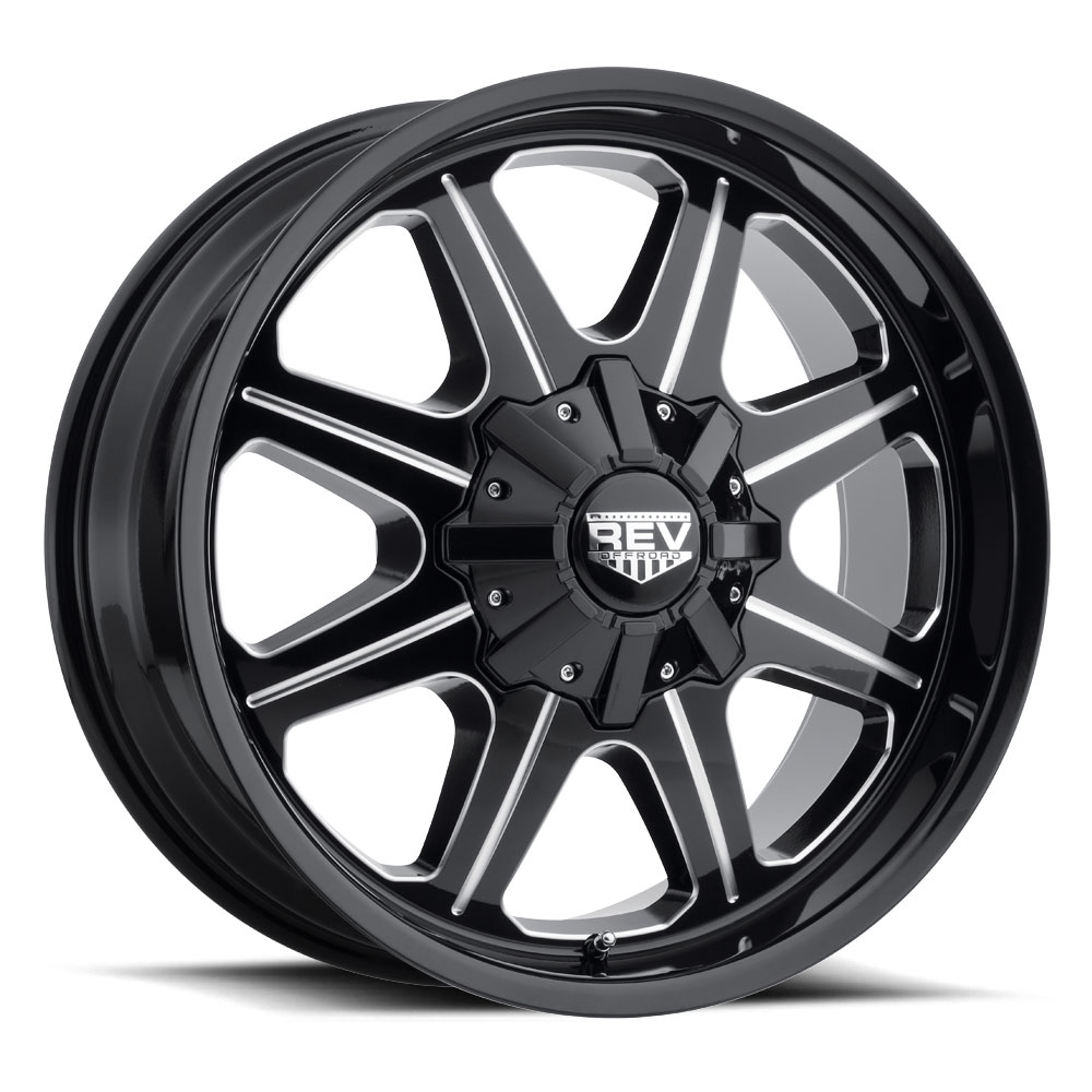 823 Offroad - Gloss Black / Milled