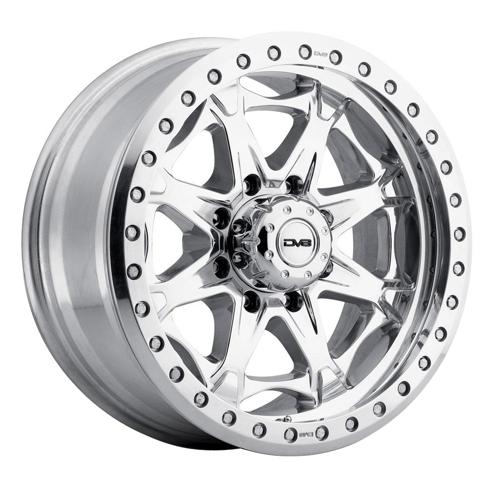 Rev Wheels 882 Offroad - Polished Rim
