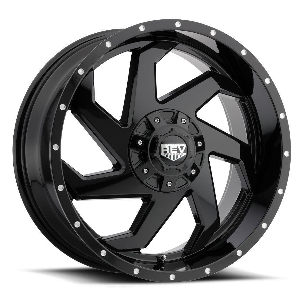 Rev Wheels 895 Offroad - Gloss Black Rim