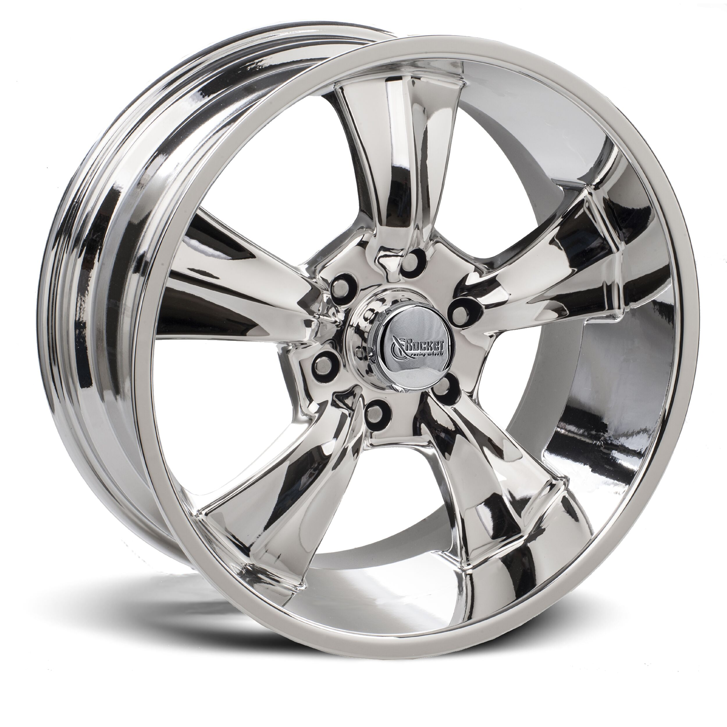 Rocket Racing Wheels Booster 6 - Chrome Rim
