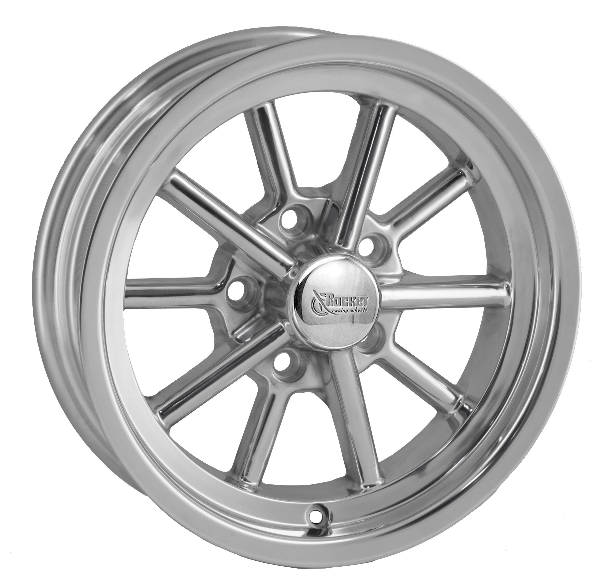 Rocket Racing Wheels Launcher - Polished Rim