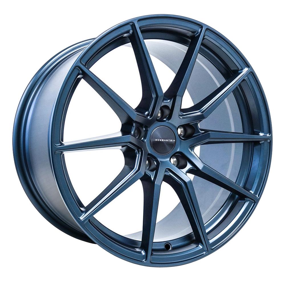 Rosenstein Wheels Delta - Cerulean Blue Pearl Rim