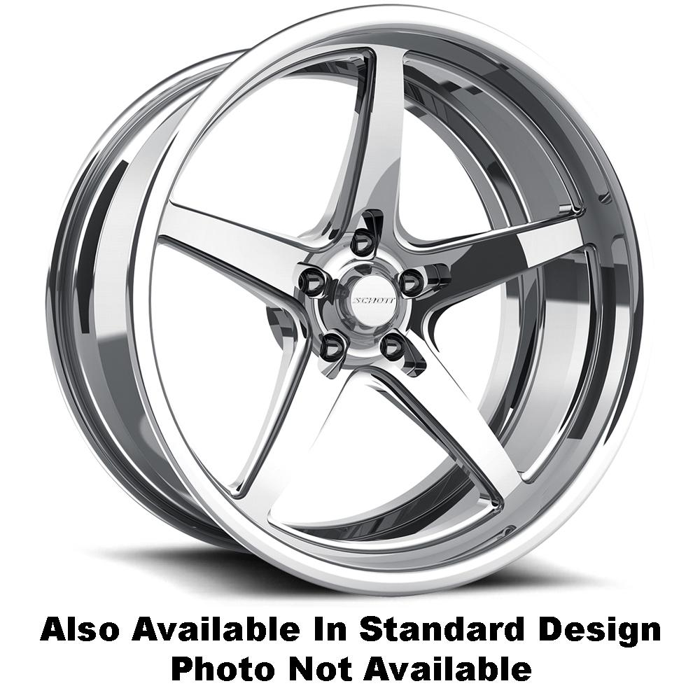 Schott Wheels Rail EXL (Std Profile) - Custom Finish Rim