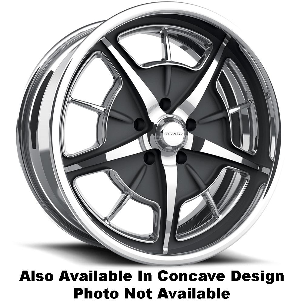Schott Wheels Split-Window EXL (Concave) - Custom Finish Rim