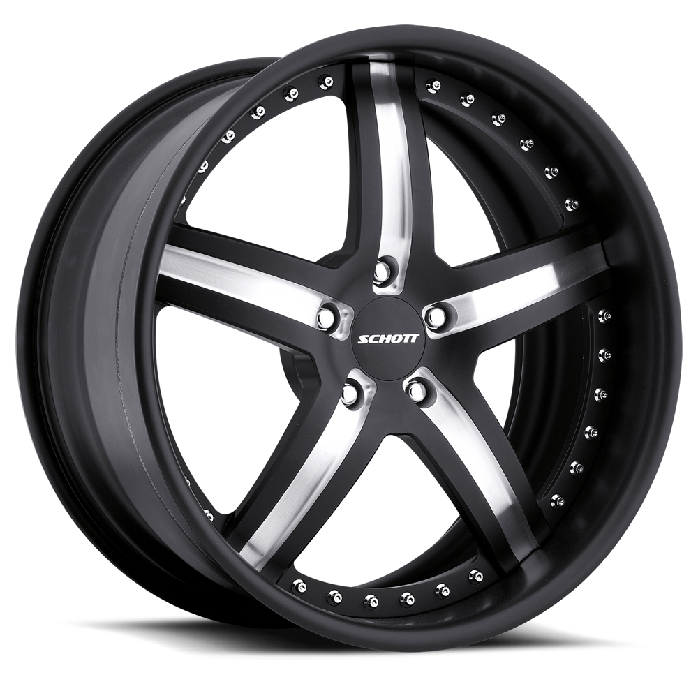 Schott Wheels Daytona - Custom Finish Rim - 19x11.5