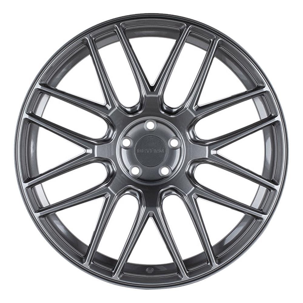 Beyern Wheels Autobahn - Gloss Gunmetal Rim