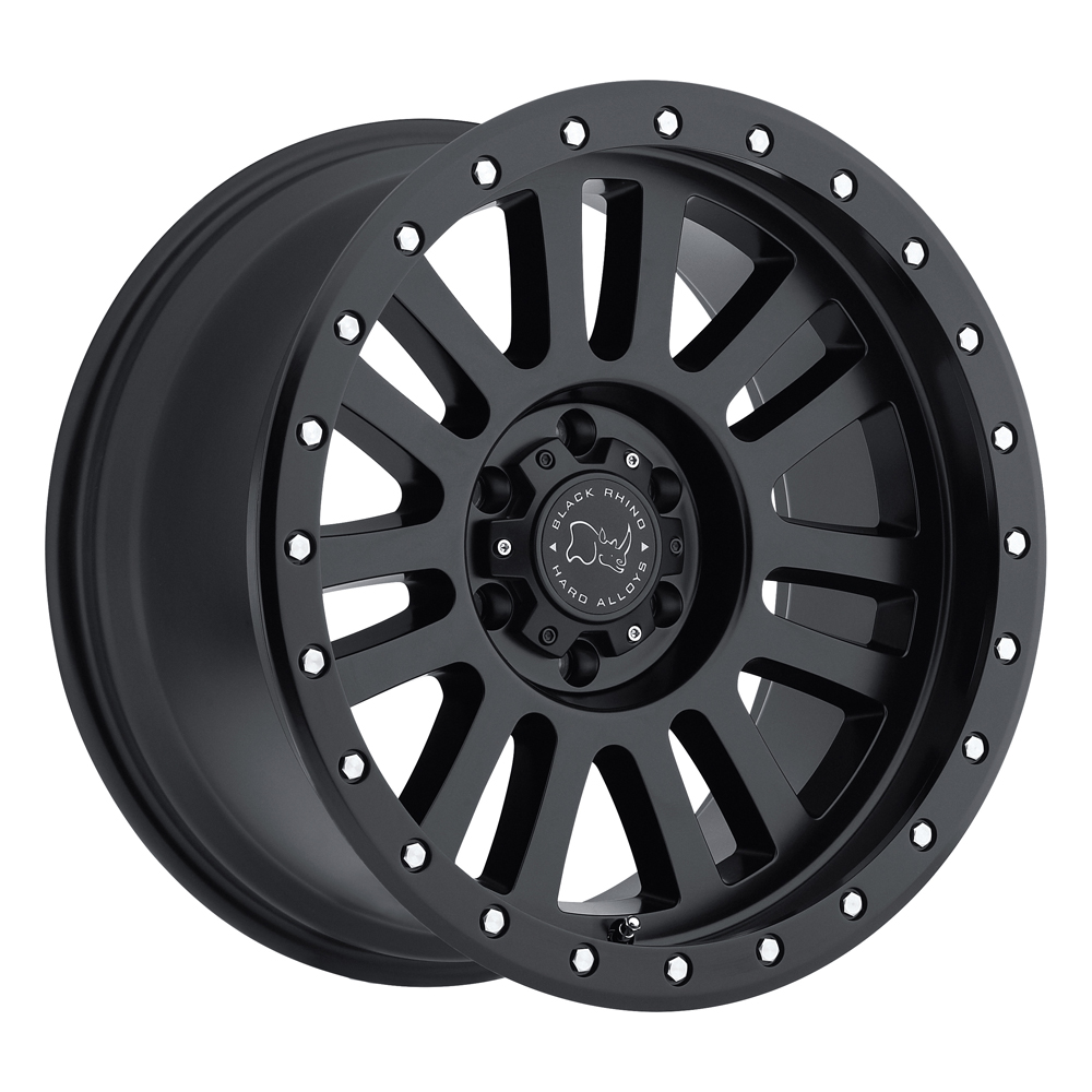 Black Rhino Wheels El Cajon - Matte Black