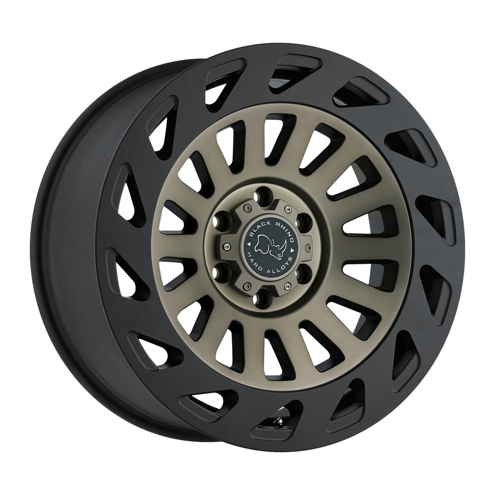 Black Rhino Wheels Madness - Dark Tint Machine Face with Matte Black Lip