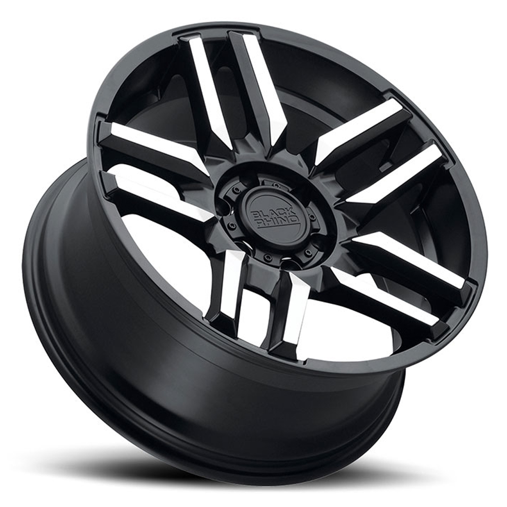 Black Rhino Wheels Mesa - Matte Black W/Machined Face