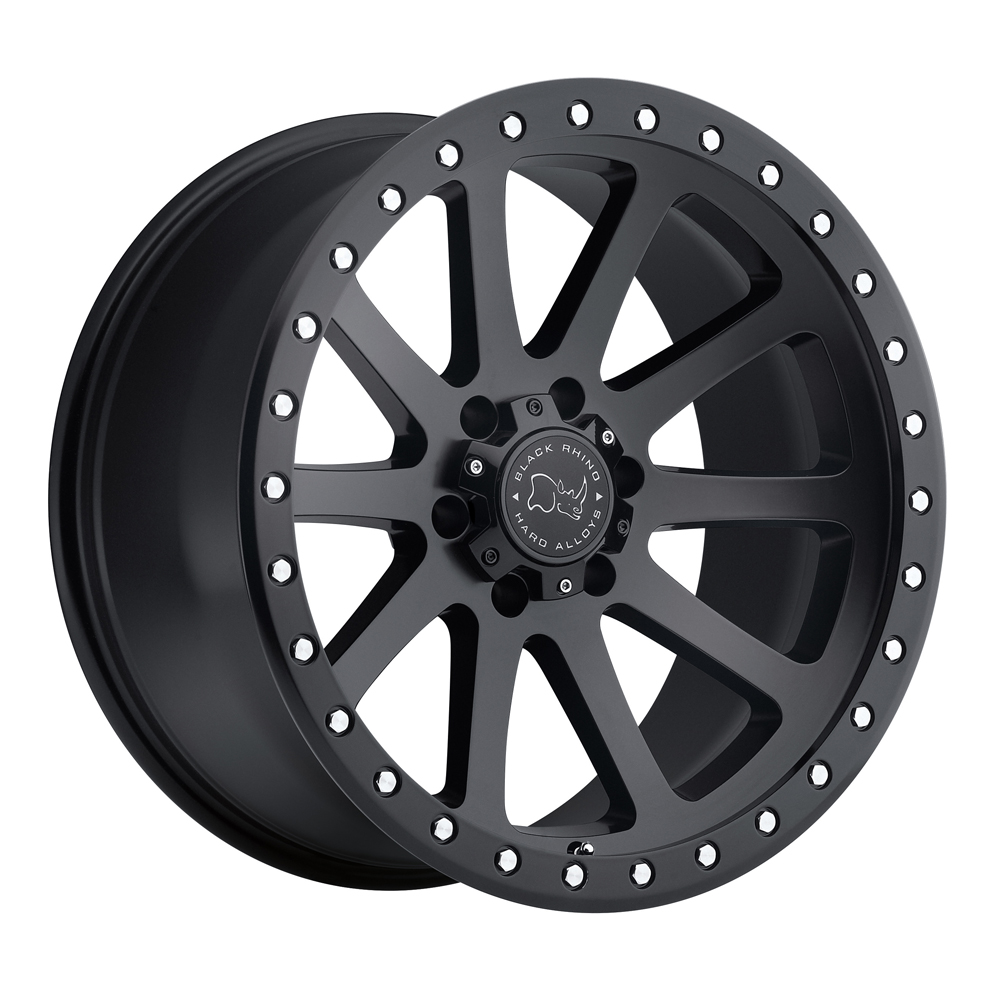 Black Rhino Wheels Mint - Matte Black