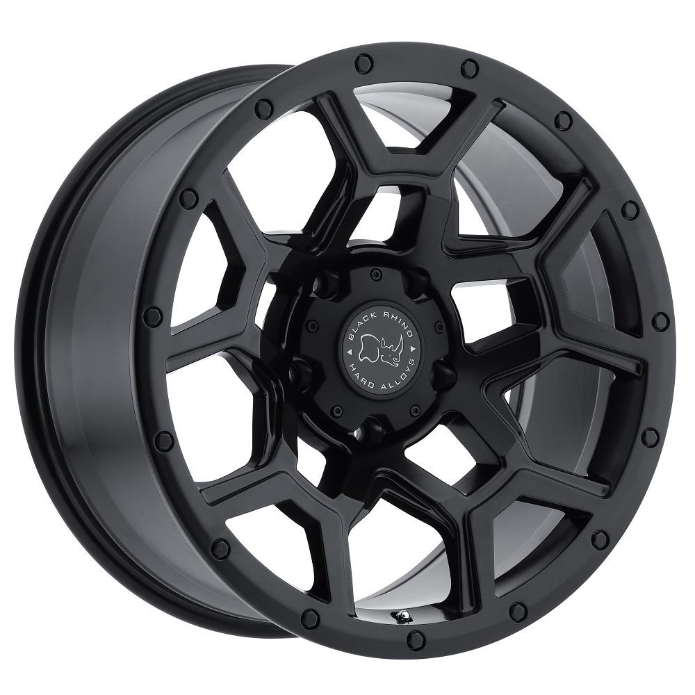 Black Rhino Wheels Overland - Matte Black