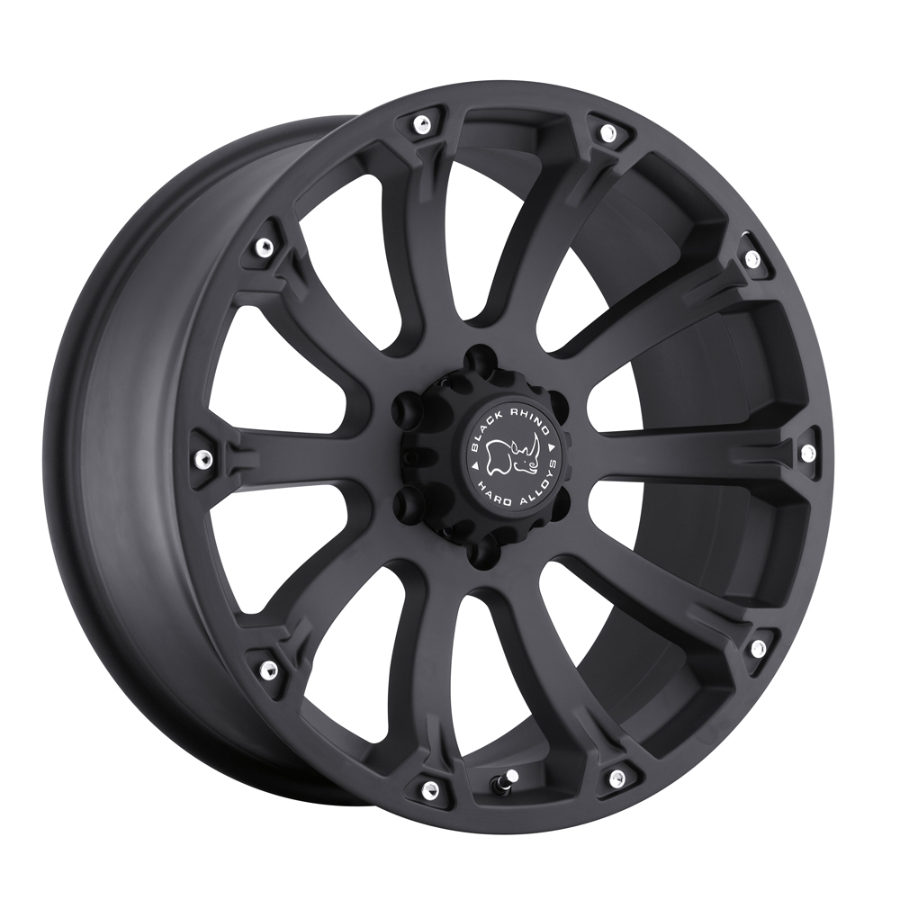 Black Rhino Wheels Sidewinder - Matte Black