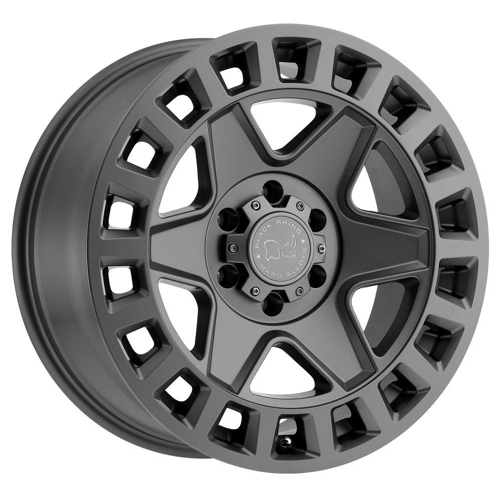 Black Rhino Wheels York - Matte Gunmetal