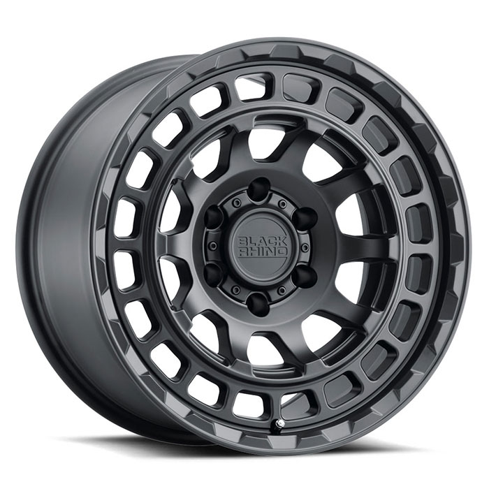 Black Rhino Wheels Chamber - Matte Black Rim
