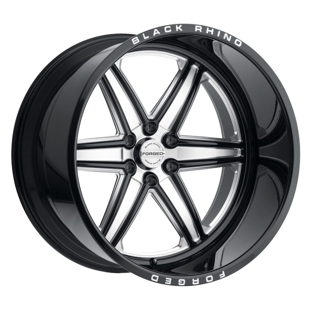 Black Rhino Wheels Marauder - Gloss Black W/Milled Spokes Rim
