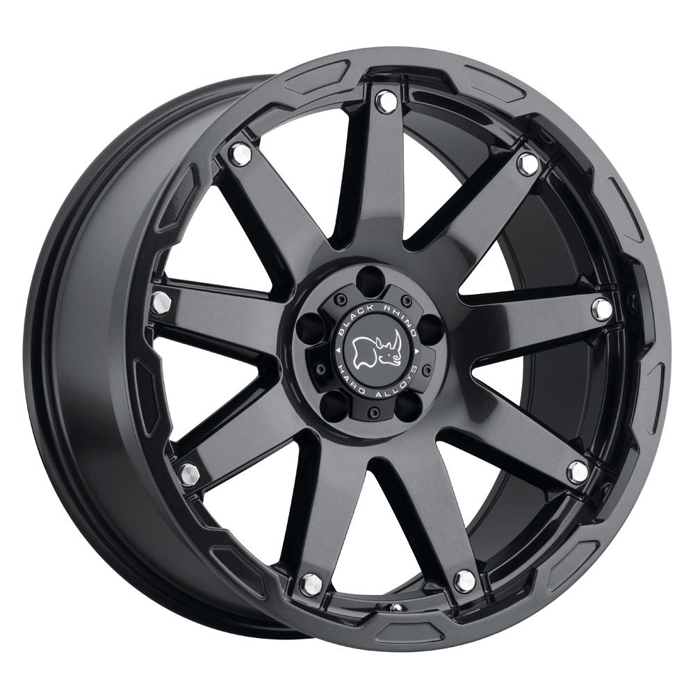 Black Rhino Wheels Oceano - Gloss Gunblack W/Stainless Bolts Rim