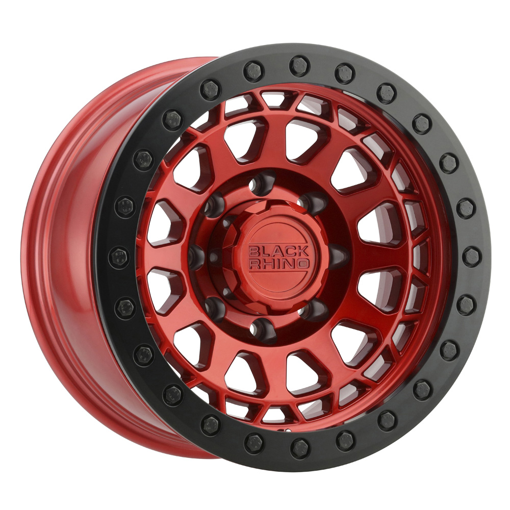 Black Rhino Wheels Primm - Candy Red w/ Black Ring & Bolts