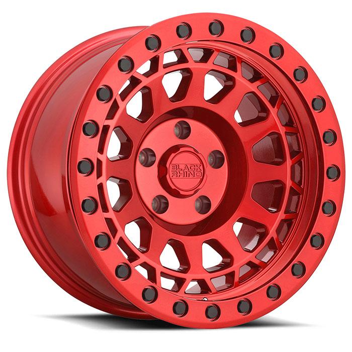 Black Rhino Wheels Primm - Candy Red w/ Black Bolts