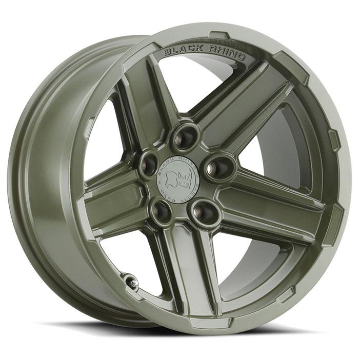Black Rhino Wheels Recon - OD Green Rim