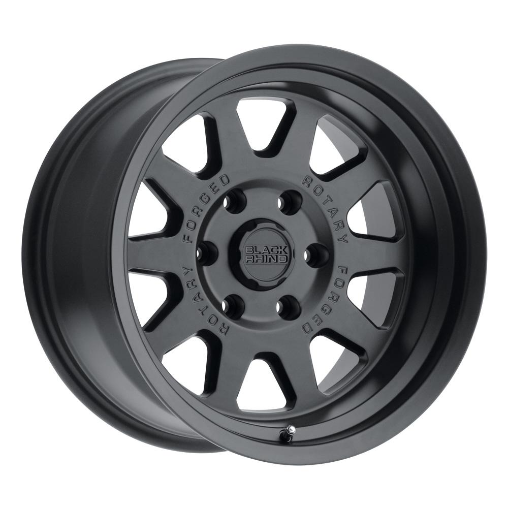 Black Rhino Wheels Stadium - Matte Black Rim