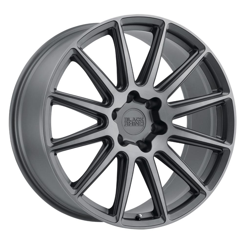 Black Rhino Wheels Waza - Brushed Gunmetal Rim