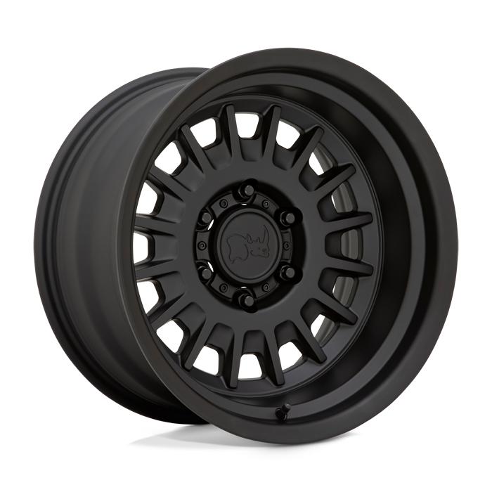 Black Rhino Wheels Aliso - Matte Black Rim