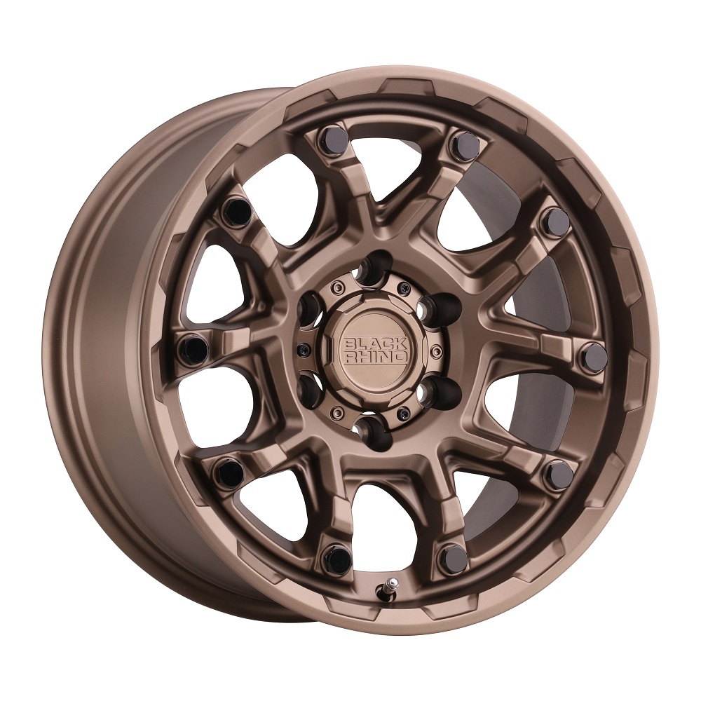Black Rhino Wheels Ark - Bronze W/Gloss Black Bolt Rim