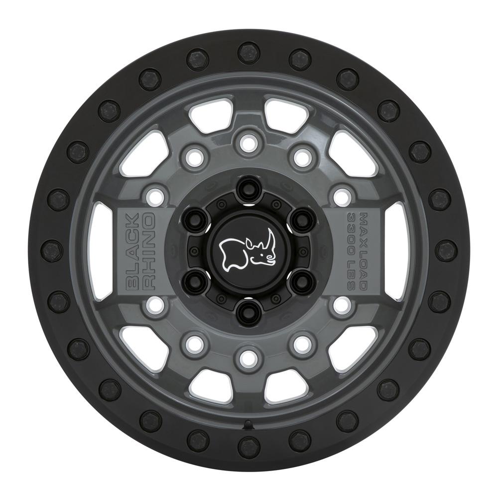Black Rhino Wheels Avenger - Battleship Gray with Black Hardware Rim