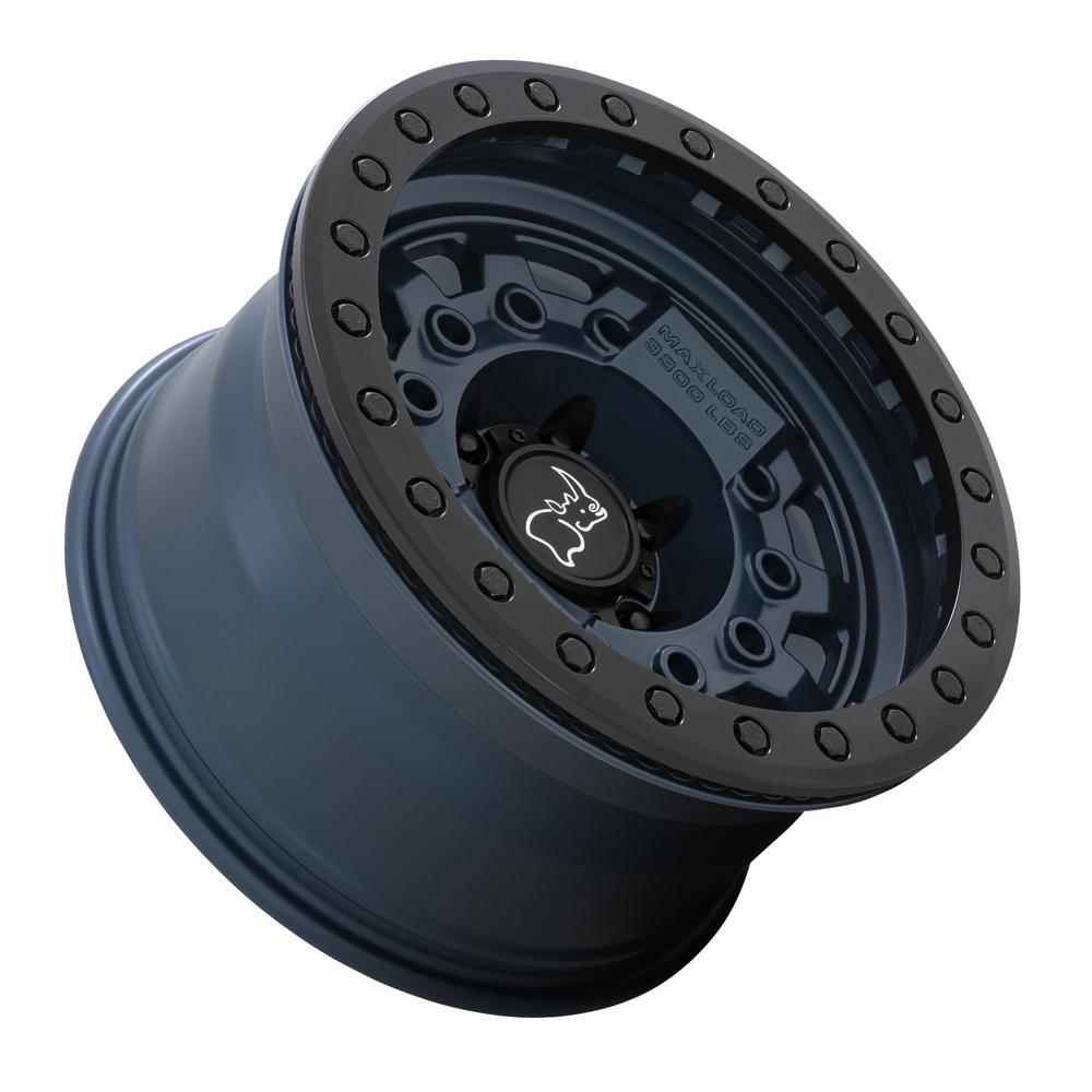 Black Rhino Wheels Avenger - Navy Blue with Black Hardware Rim
