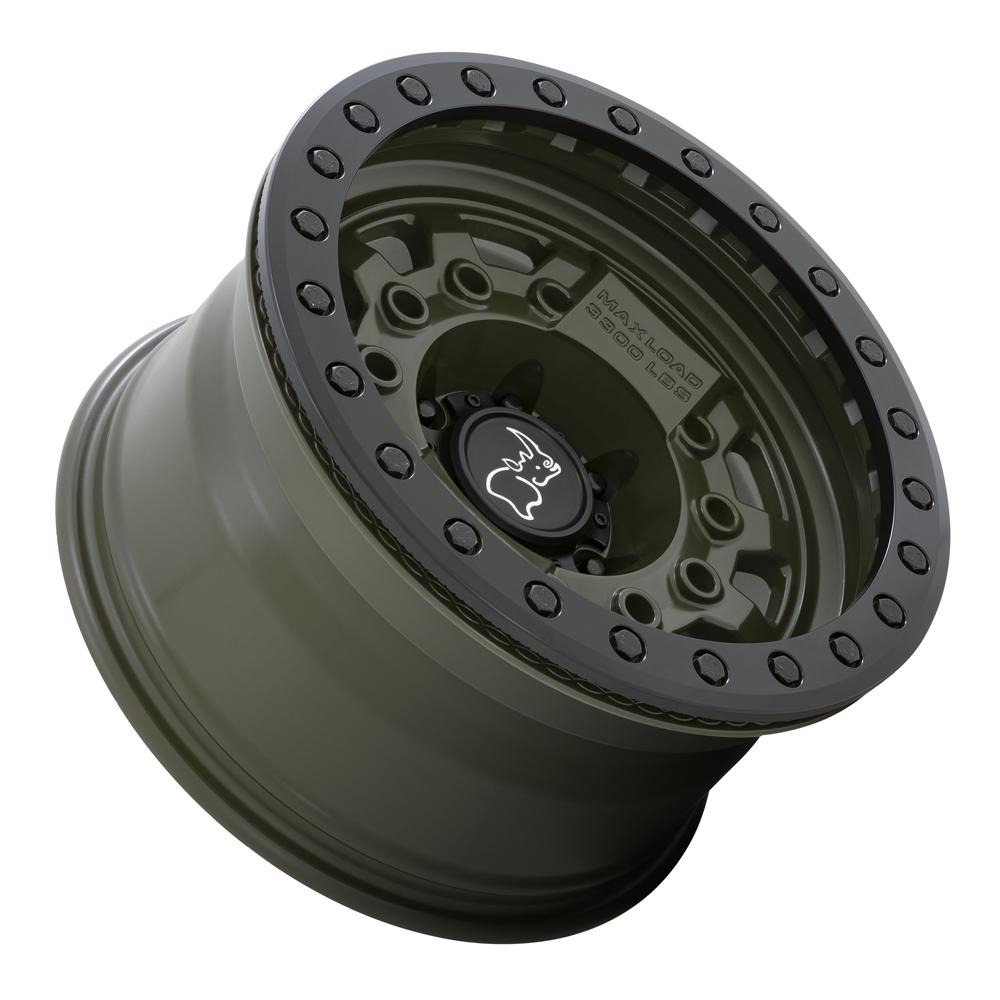 Black Rhino Wheels Avenger - Od Green with Black Hardware Rim