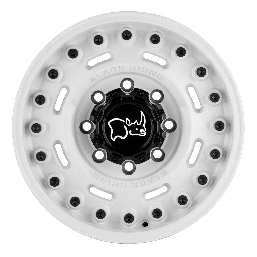 Black Rhino Wheels Axle - Gloss White Rim