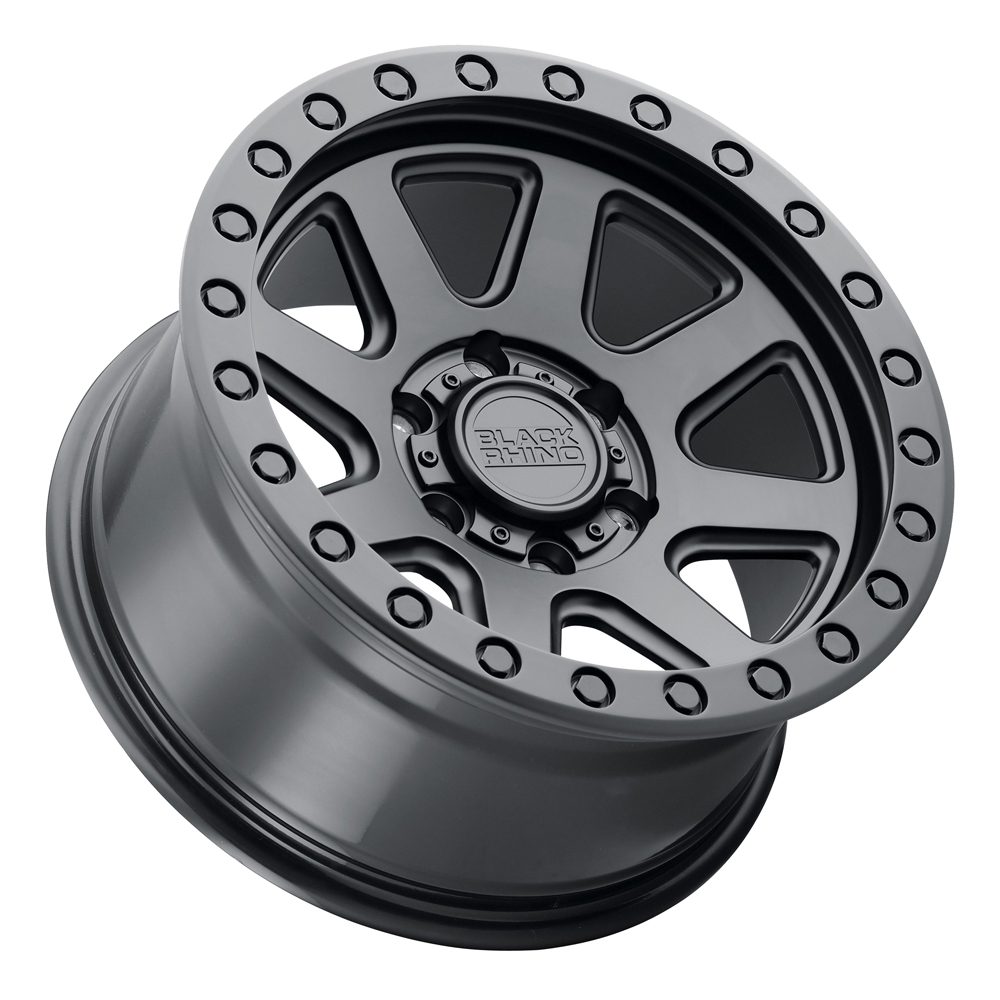 Black Rhino Wheels Baker - Matte Black Rim