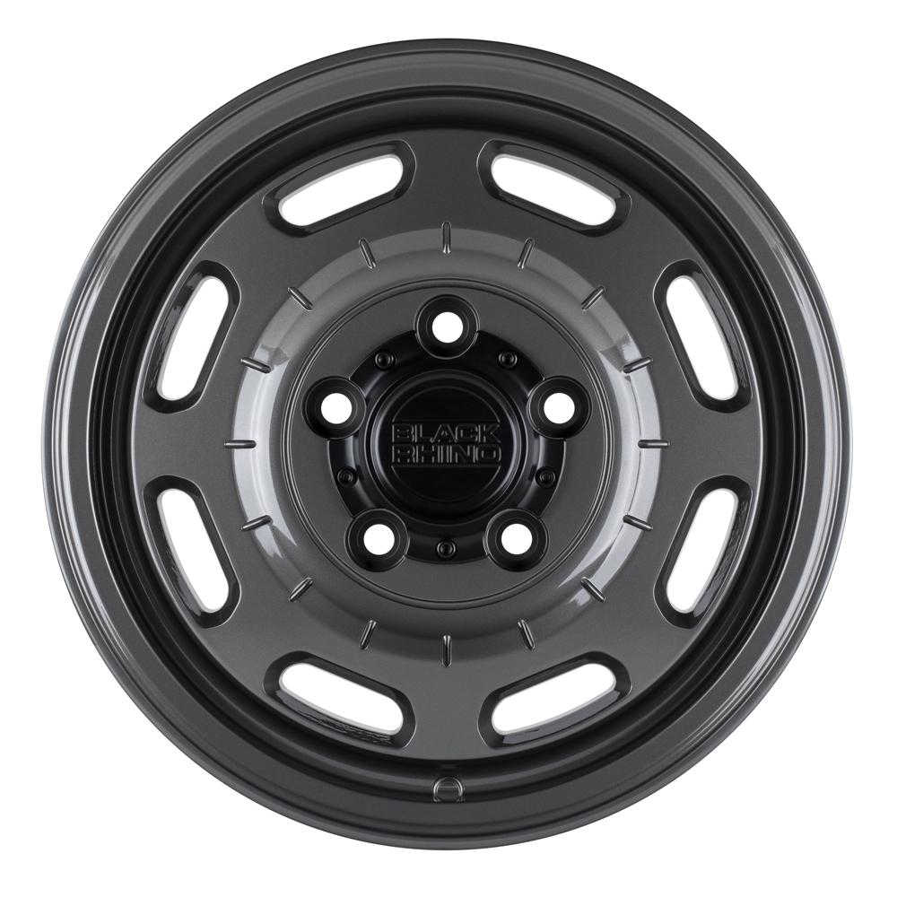 Black Rhino Wheels Bandolier - Gloss Gunmetal Rim