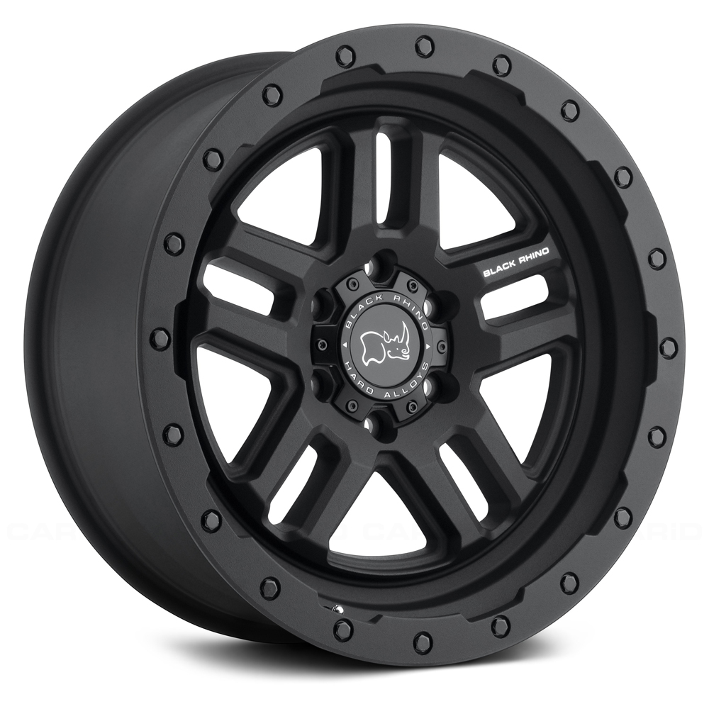 Black Rhino Wheels Barstow - Textured Matte Black