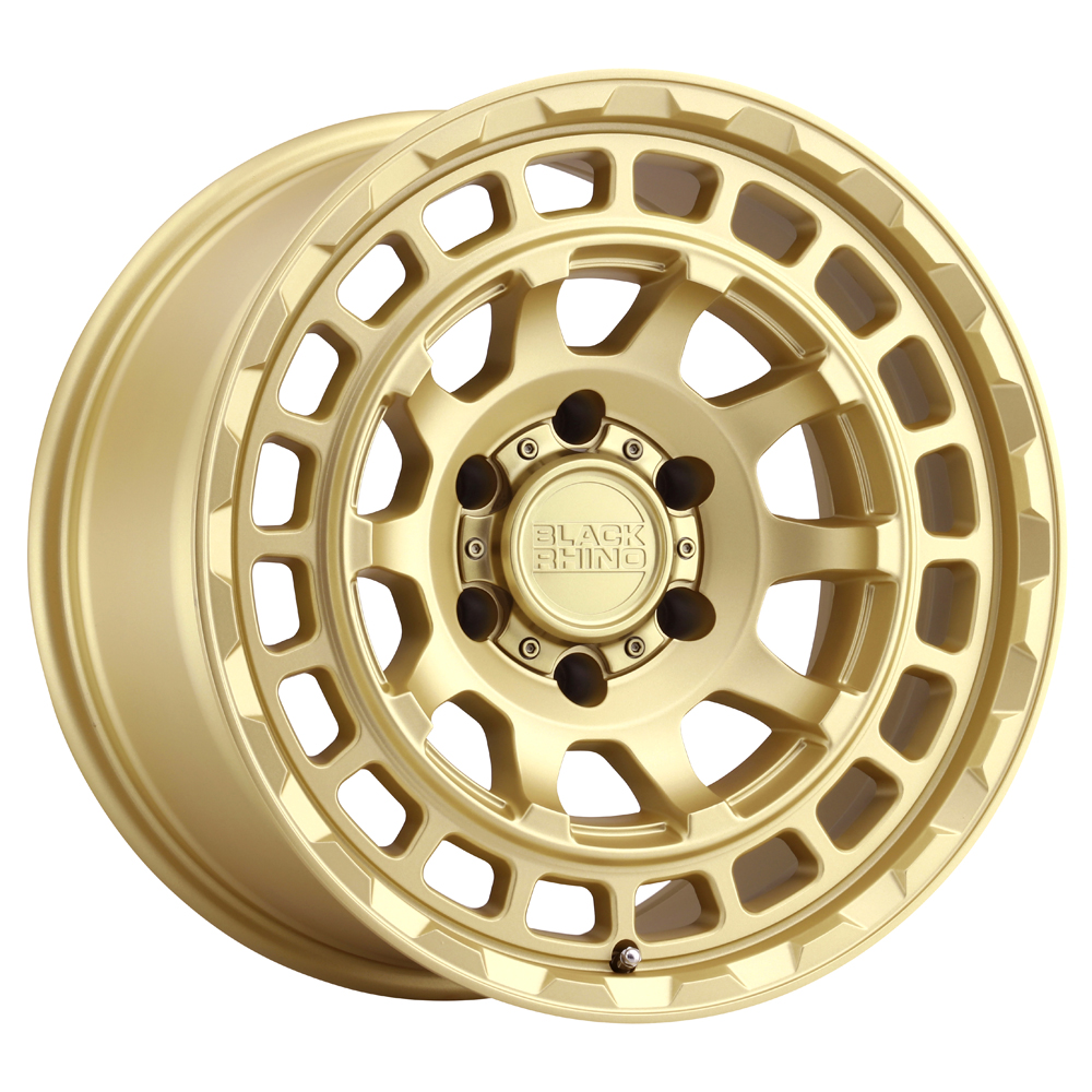 Black Rhino Wheels Chamber - Chamber Gold Rim