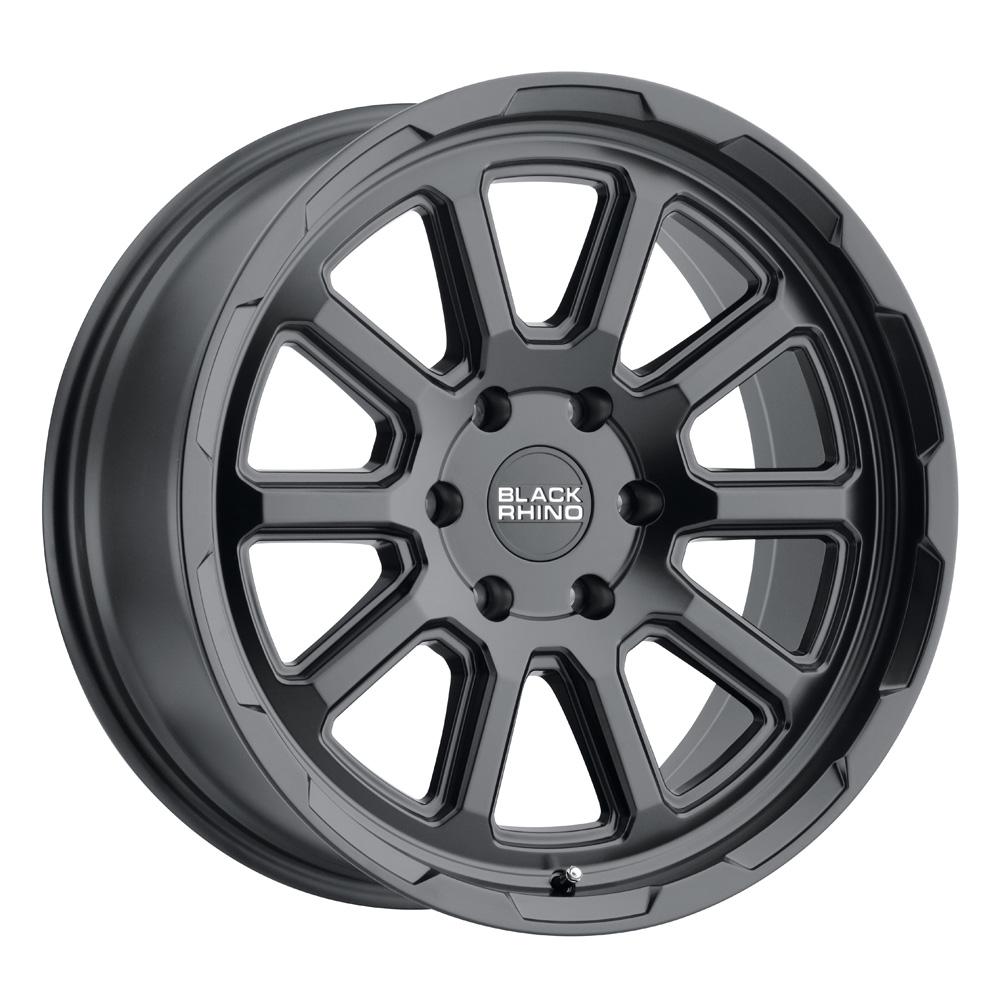 Black Rhino Wheels Chase - Matte Black