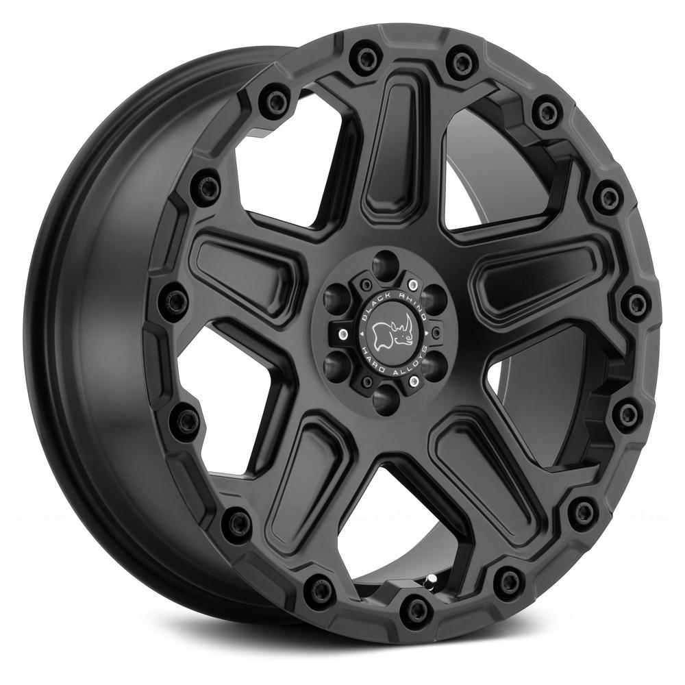 Black Rhino Wheels Cog - Matte Black