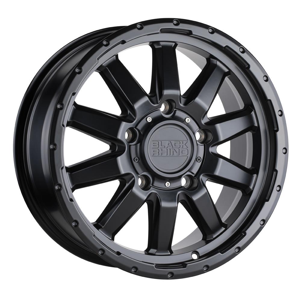 Black Rhino Wheels Excursion - Matte Black Rim
