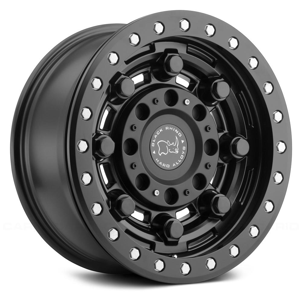 Black Rhino Wheels Garrison Beadlock - Matte Black Rim