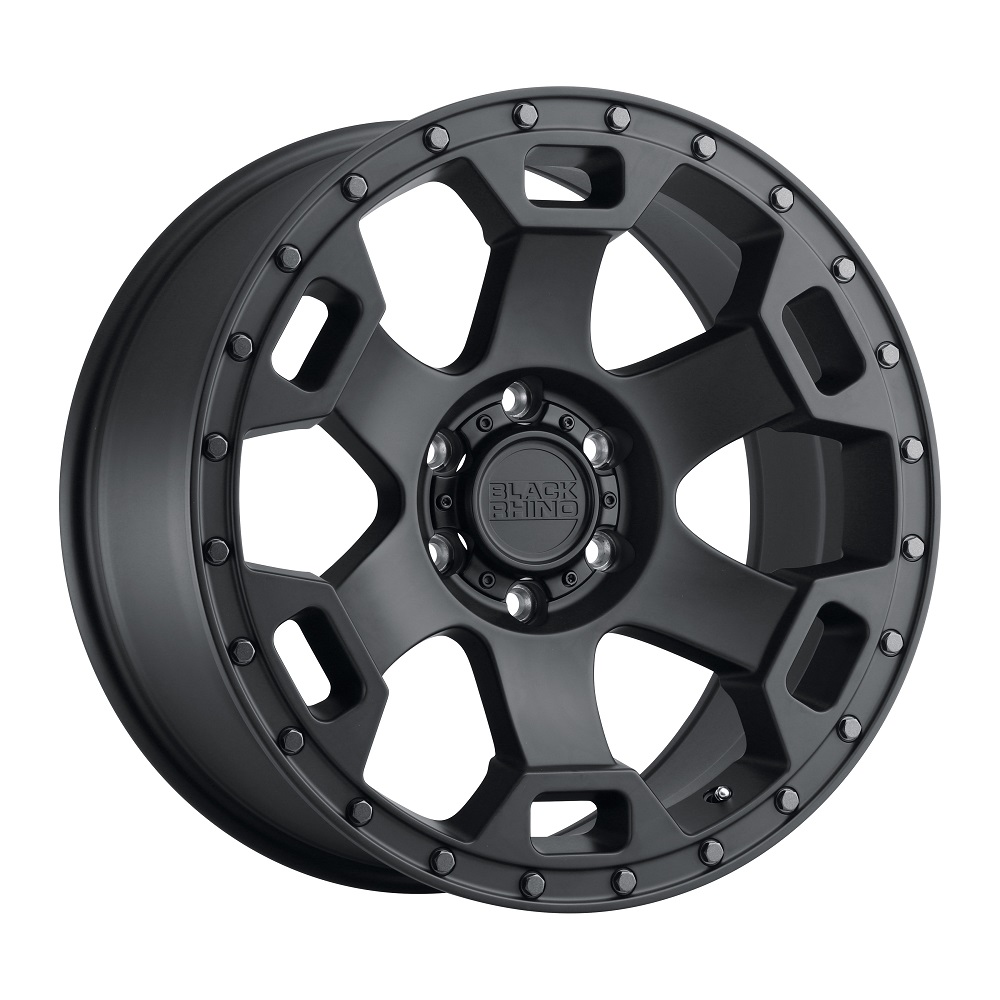Black Rhino Wheels Gauntlet - Semi Gloss Black W/Gunmetal Bolt Rim